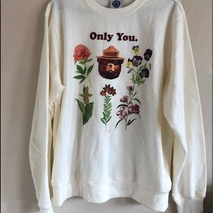 Only You Smokey Crewneck Oversized